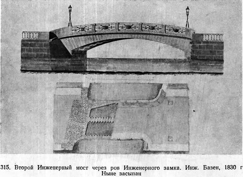 Эскиз 2-го Инженерного моста