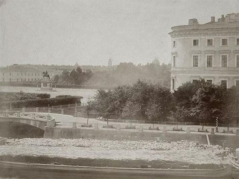 2-й Инженерный мост в 1860-х годах