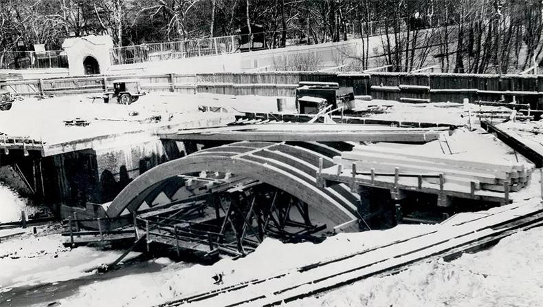 Ход реконструкции 2-го Лаврского моста