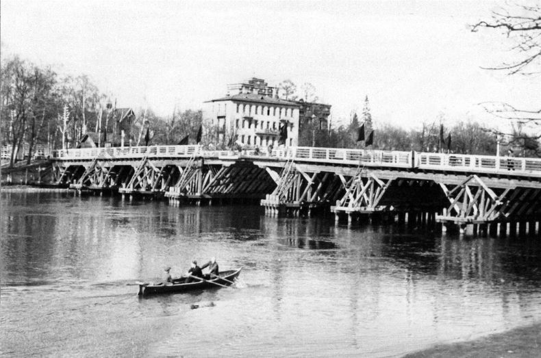 3-й Елагин моста в 1933 году