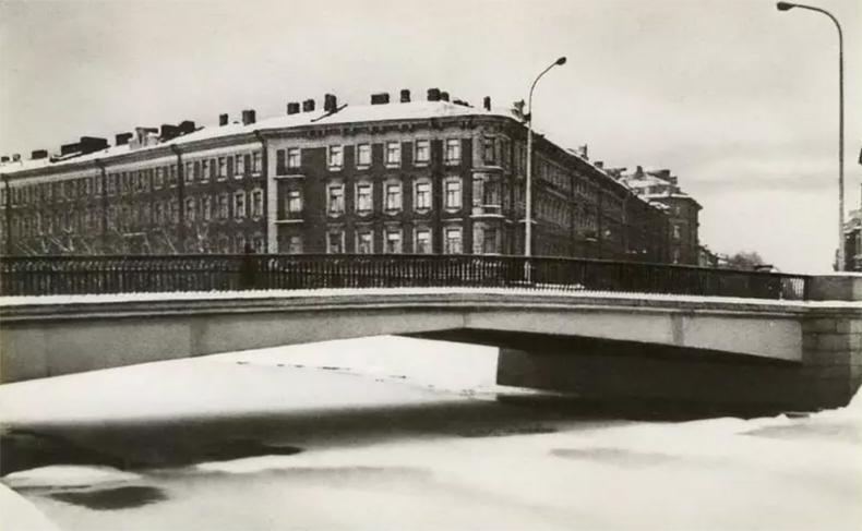 Банный мост в 1970-х годах