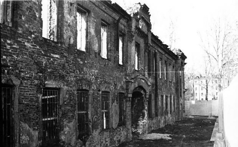 Матисовы бани (здание утрачено)