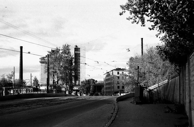 Барочный мост в 1980-х годах