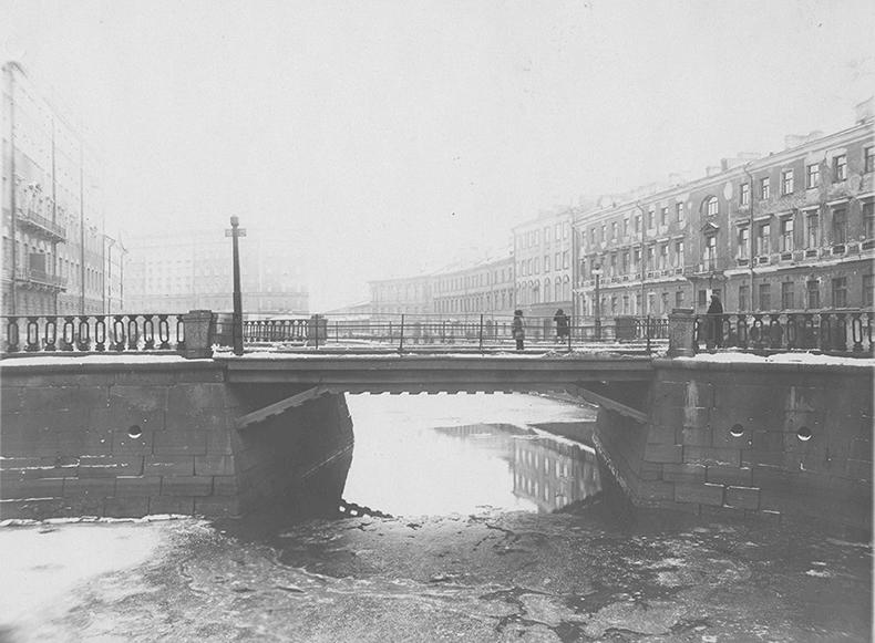 Кокушкин мост в 1930-х годах
