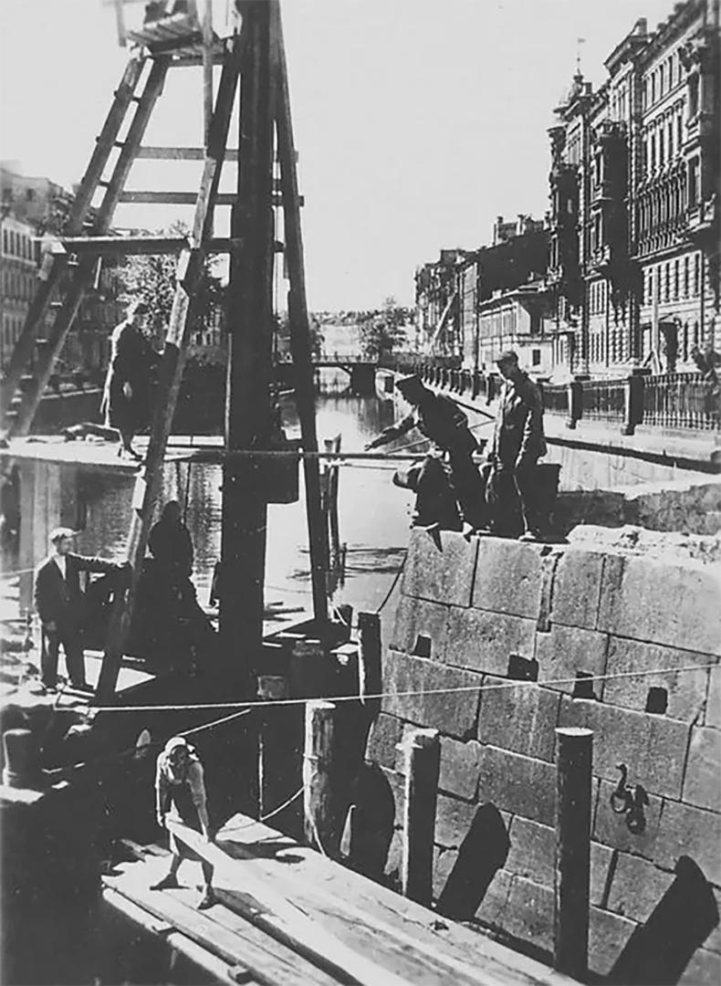 Ход реконструкции Кокушкина моста