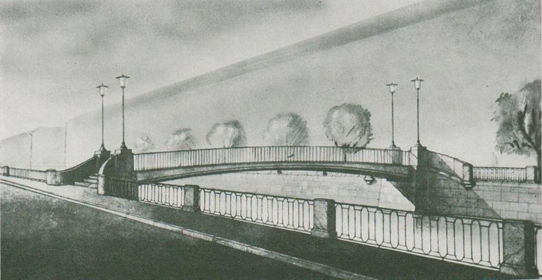 Эскизный проект нового моста