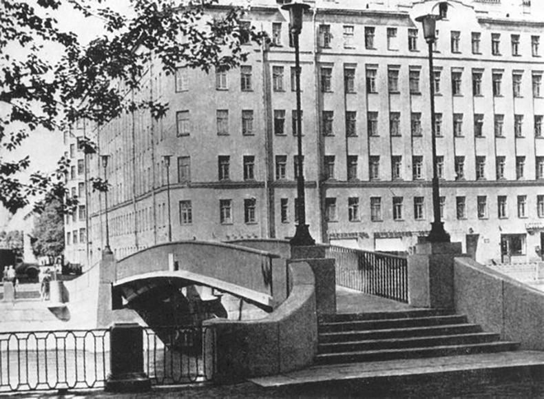 Коломенский мост в 1969 году