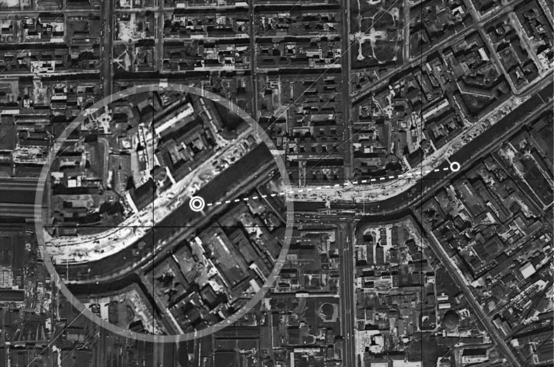 Неопознанный мост на спутниковом снимке 1966 года