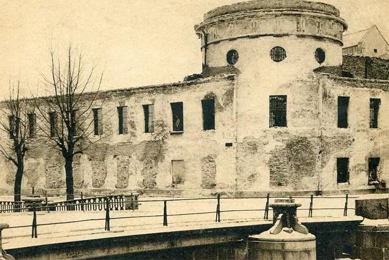 Мост Матвеева в 1920-е годы