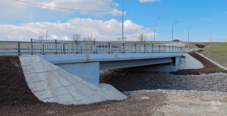 Мост через реку Пулковку у Петербургского шоссе (3)