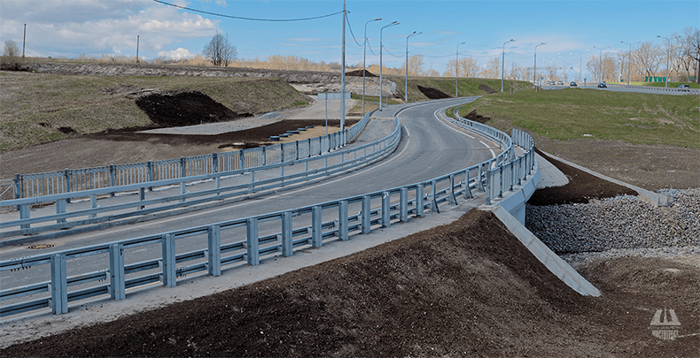 Мост через реку Пулковку у Петербургского шоссе (4)