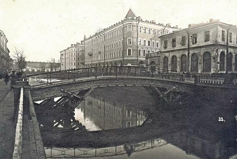 Мучной мост в 1930-х годах