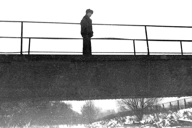 Старый Андреевский пешеходный мост