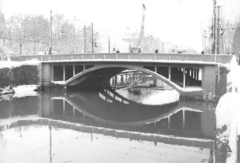 Мост во 2-й половине XX века