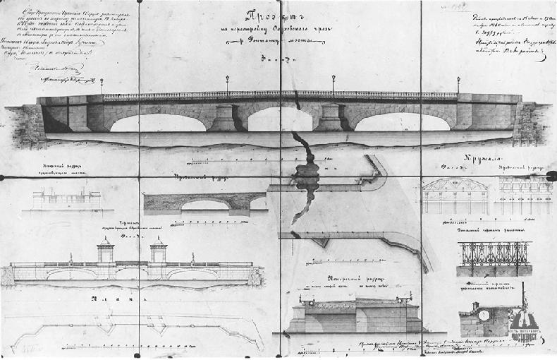 Проект перестройки Обуховского моста