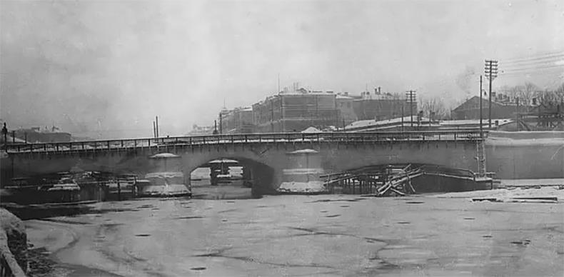 Ремонт Обуховского моста, 1939 год