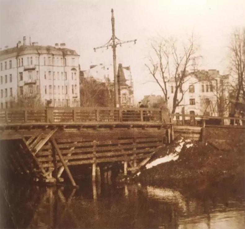 Силин мост в 1910-е – 1920-е годы