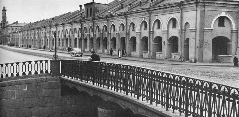 Старо-Никольский мост , 1970-е годы