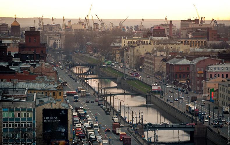 Мосты через Обводный канал