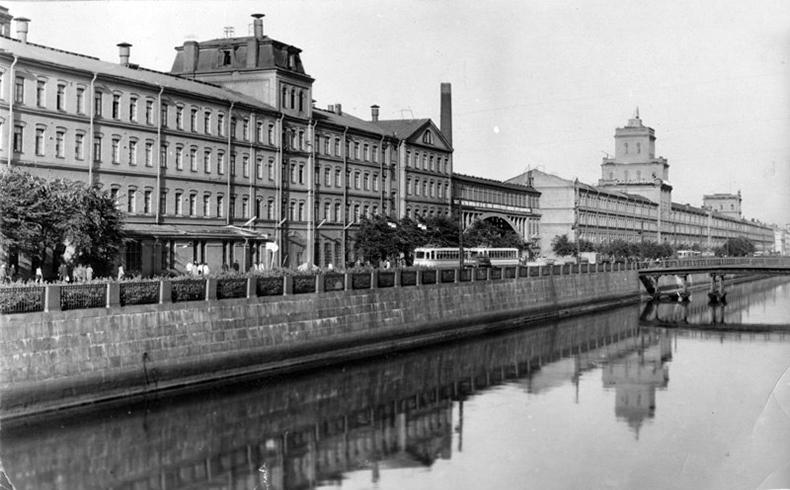 Таракановский мост на фото 1960х – начала 1970х годов