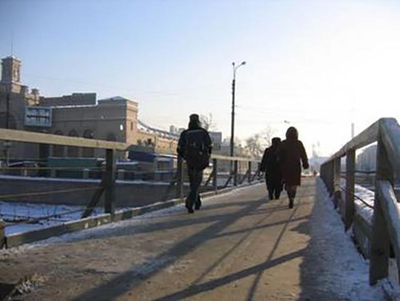 Варшавский временный мост