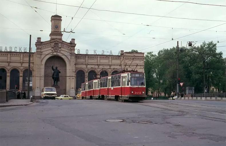 Варшавский мост в 1987 году