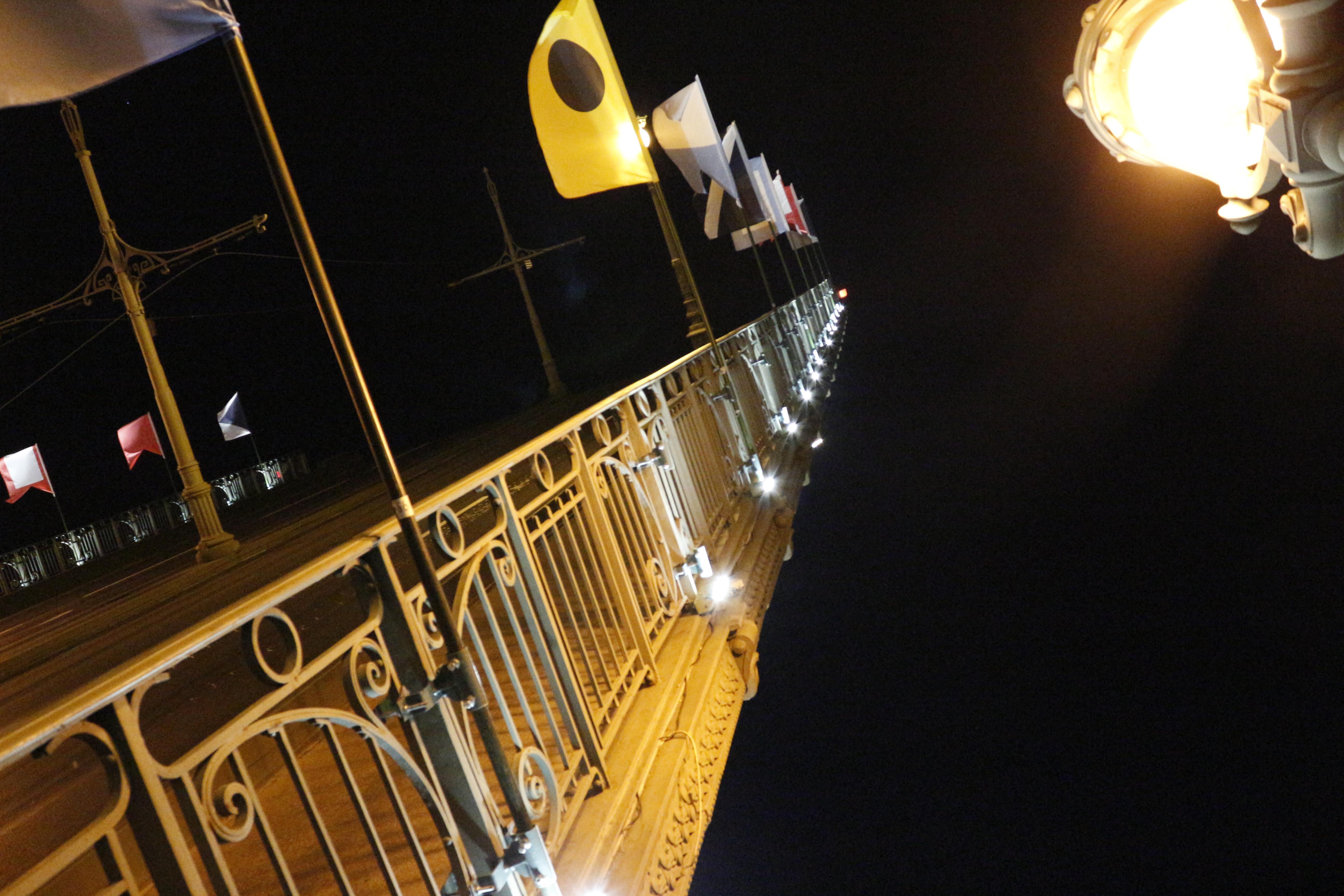 Журналисты посетили Троицкий мост