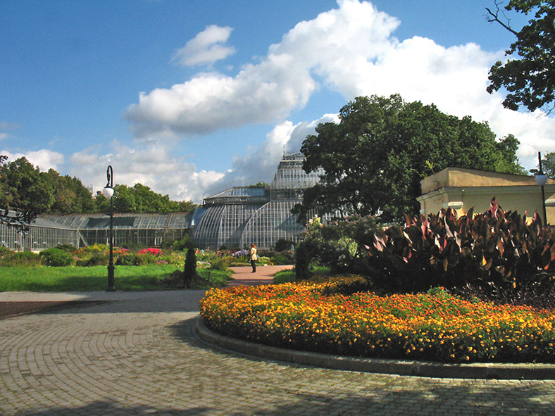 Парк и оранжереи Ботанического сада