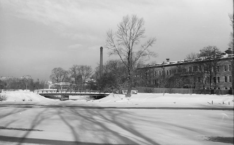 Мост в 1959–1961 годах