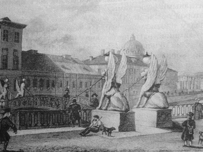 Гравюра Гоберта по рис. А. М. Горностаева. 1834 год http://p0.citywalls.ru/photo_49-50532.jpg?mt=1279978182