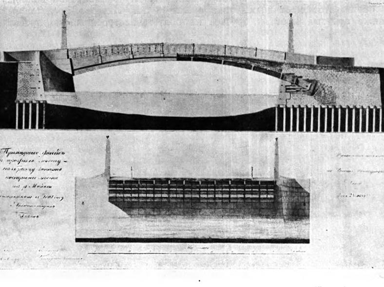 Типовой чертеж чугунных мостов Гесте: http://www.arhplan.ru/