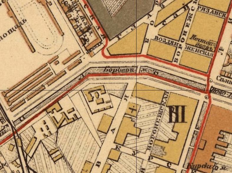 Фрагмент плана Санкт-Петербурга 1894 года, источник: http://retromap.ru/m.php#l=0020090&r=141894&z=16&y=59.915832&x=30.344561&p=10