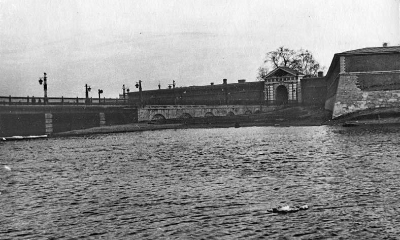 Мост после реконструкции 1951–1953 годов