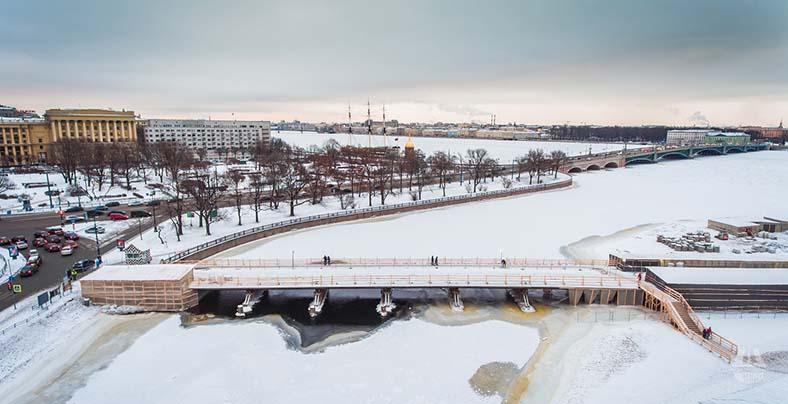 Ремонт Иоанновского моста, конец 2016 года