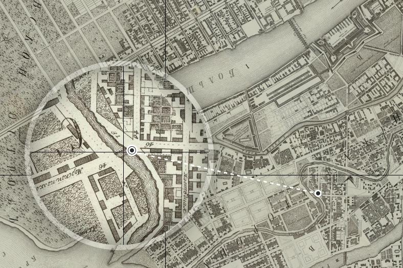 План Столичного города С.Петербурга 1753 года
