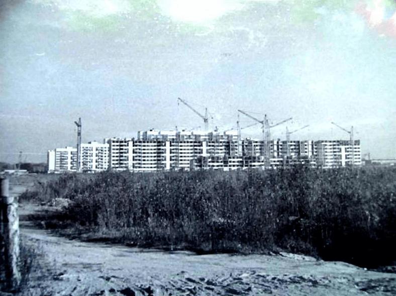 Строится район «Корабли», 1971 год. Источник: http://oldsp.ru/old/photo/view/20960