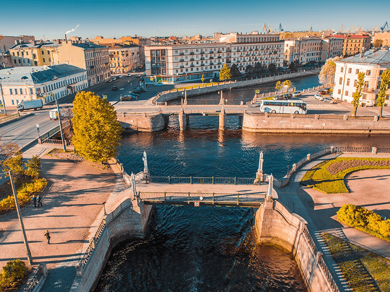 Фото двух мостов