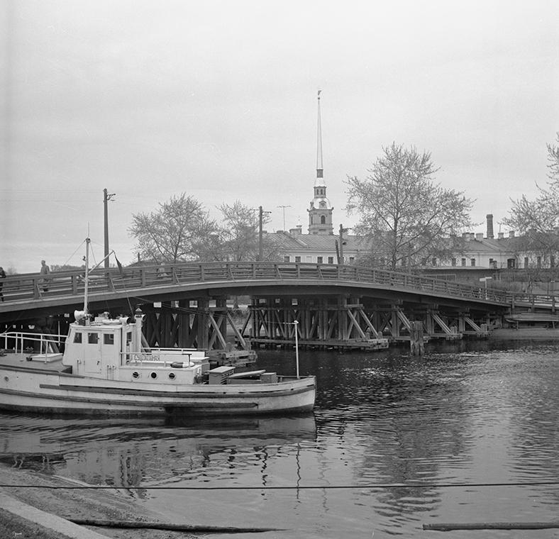 Кронверкский мост, начало 1960-х годов