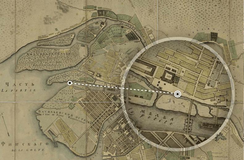План Петербурга 1804 года