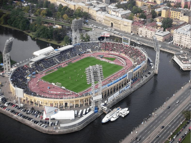 Стадион «Петровский»: http://www.fcrubin.ru/
