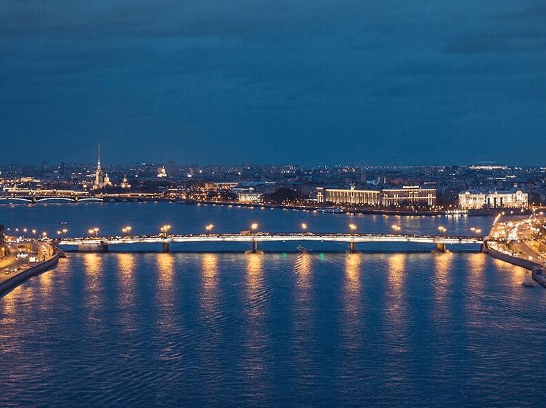 Панорама Литейного моста