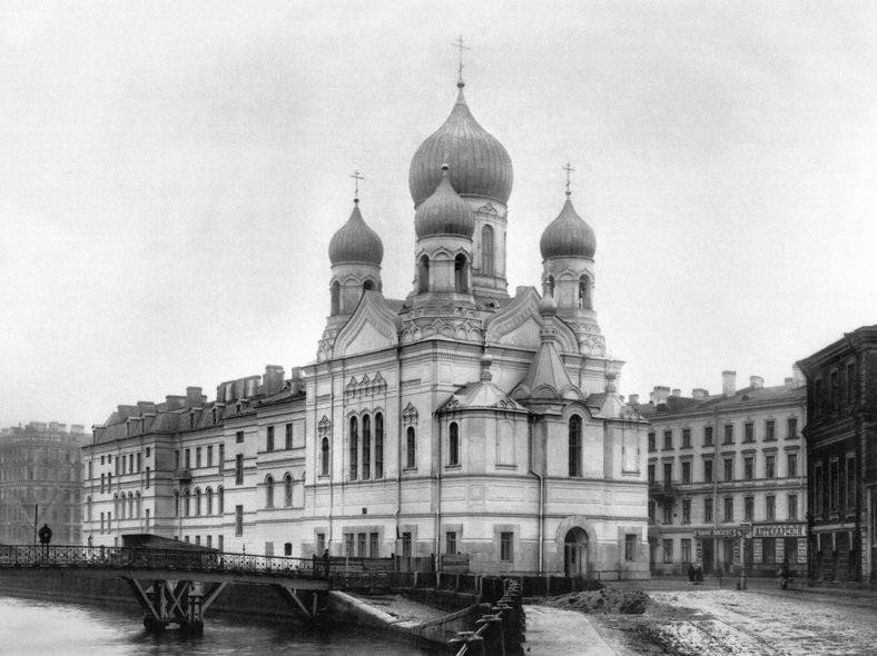 1913 год. Новый Могилёвский мост у Свято-Исидоровской церкви: https://pastvu.com/p/113288