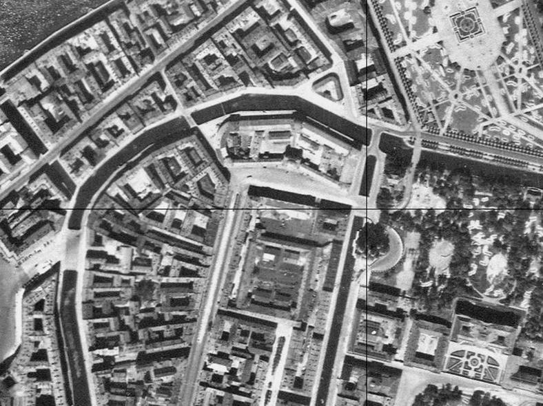 Аэрофотосъемка 1942 года, источник: http://retromap.ru/