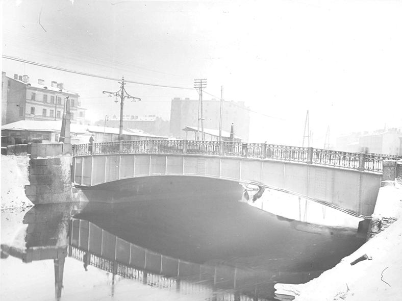 Мост в начале 1930-х годов