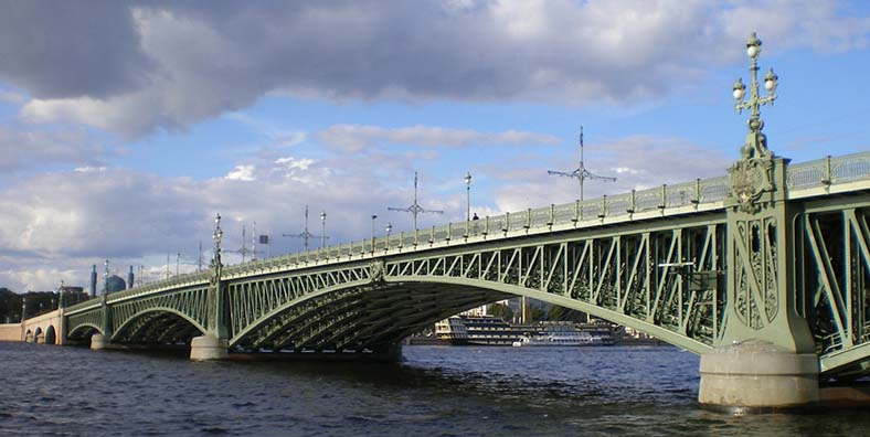 Фонари Троицкого моста