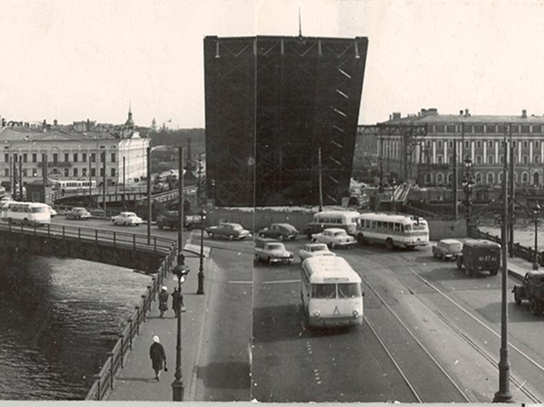 Мост с временным объездом