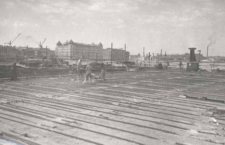 Строительство нового Тучкова моста, 1962–1965 год