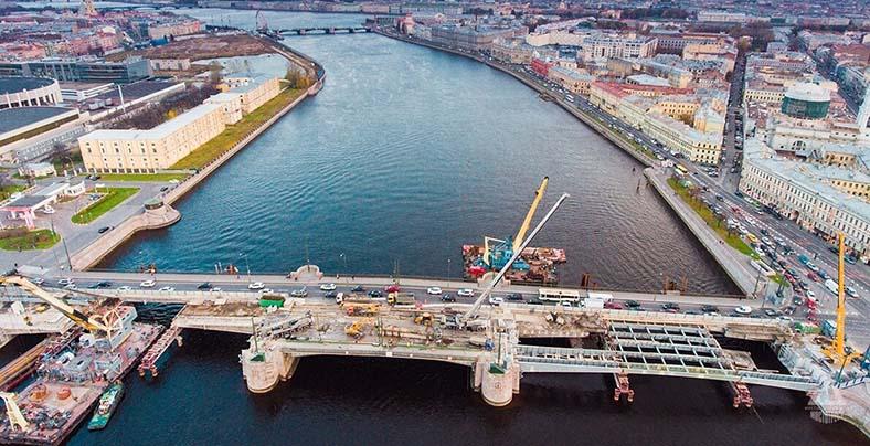 Реконструкция Тучкова моста