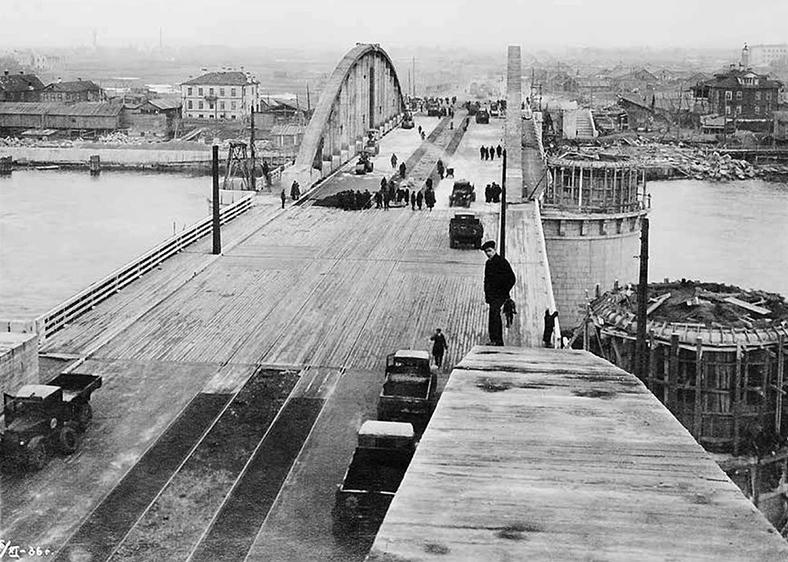 Накануне открытия Володарского моста, 6 ноября 1936 года