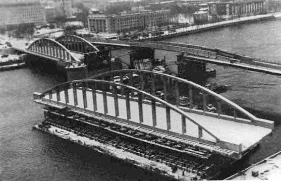 Реконструкция Володарского моста, 1988–1993 годы